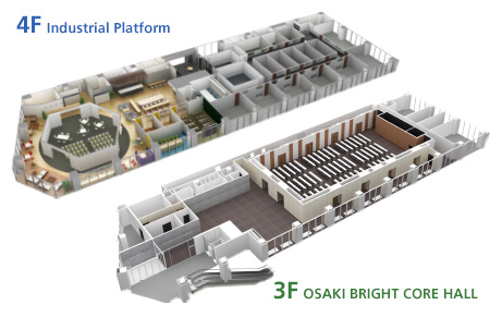 The Shinagawa Industrial Platform / OSAKI BRIGHT CORE HALL